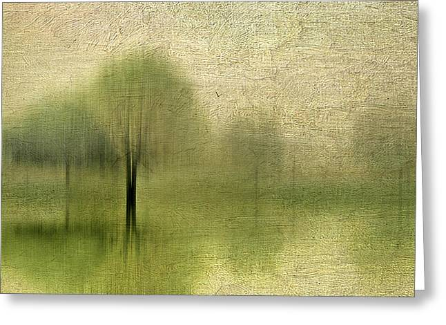 Blur Greeting Cards - Impressions of Spring Greeting Card by Jessica Jenney
