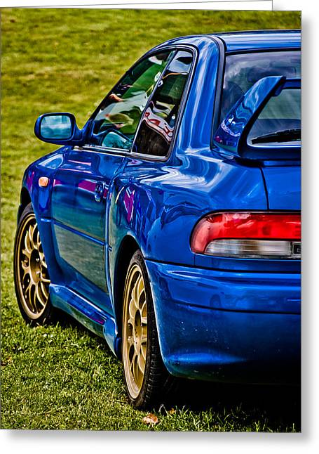 Phil Motography Clark Greeting Cards - Impreza 22B Greeting Card by Phil