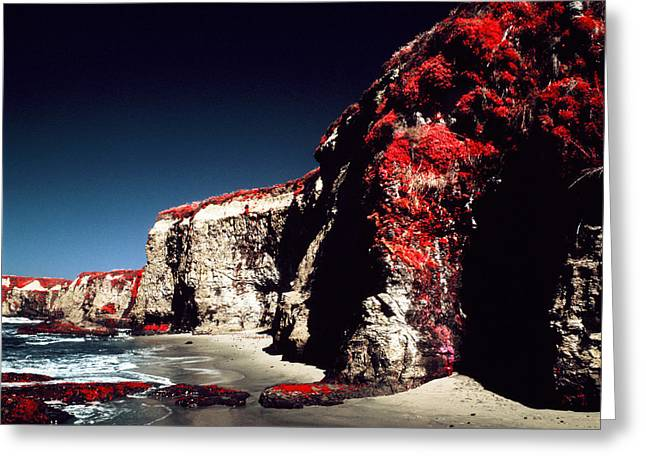 California Ocean Photography Greeting Cards - In a Mineral Sea Greeting Card by Mark Hannah