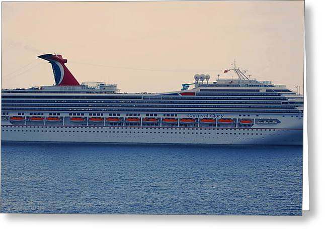 Carnival Glory Greeting Cards - In All Her Glory Greeting Card by Richard Booth