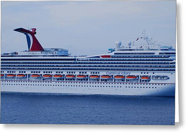 Carnival Glory Greeting Cards - In All Her Glory Two Greeting Card by Richard Booth