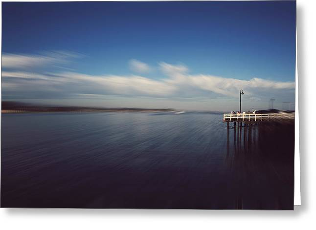 Santa Cruz Ca Photographs Greeting Cards - In an Instant Greeting Card by Laurie Search