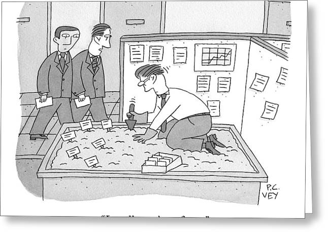 In An Office Greeting Card by Peter C. Vey