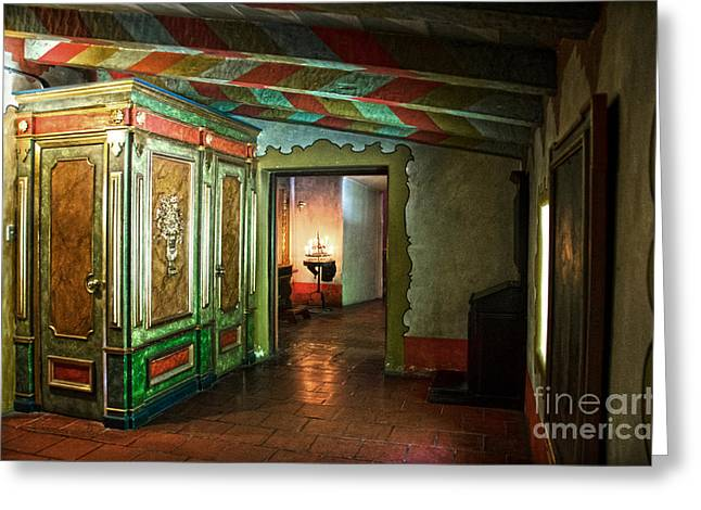 Borromeo Greeting Cards - In Carmel Mission Greeting Card by RicardMN Photography