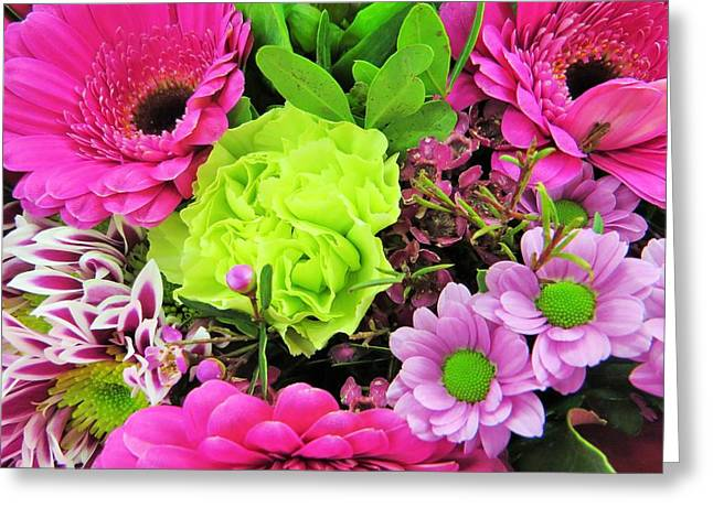 March Greeting Cards - In Company Greeting Card by B Vesseur
