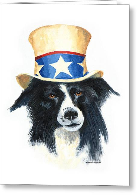 Dyslexia Greeting Cards - In Dog We Trust Greeting Card by Jerry McElroy