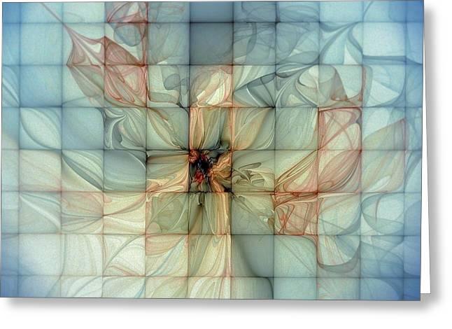 Best Sellers -  - Floral Digital Art Digital Art Greeting Cards - In Dreams Greeting Card by Amanda Moore