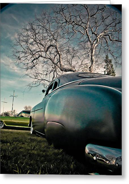 Kustom Greeting Cards - In Dreams Greeting Card by Merrick Imagery