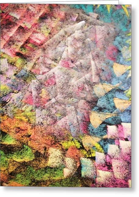 Dwell Pastels Greeting Cards - in Dust and Light Greeting Card by S Patrick Hagen