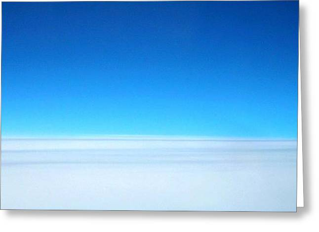 Blau Greeting Cards - In Heaven ... Greeting Card by Juergen Weiss