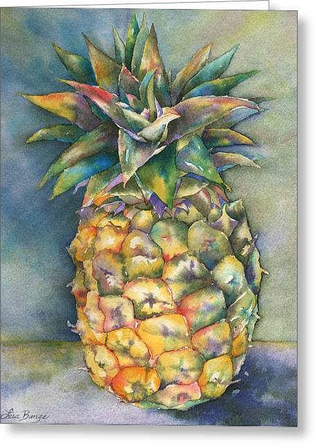 Tropical Island Greeting Cards - In Living Color Greeting Card by Lisa Bunge