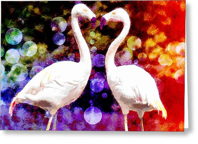 Soulmate Greeting Cards - In Love Greeting Card by Nishanth Gopinathan