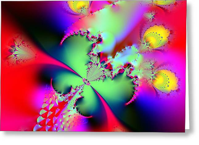 Recently Sold -  - Abstract Digital Greeting Cards - In Memory Greeting Card by Solomon Barroa