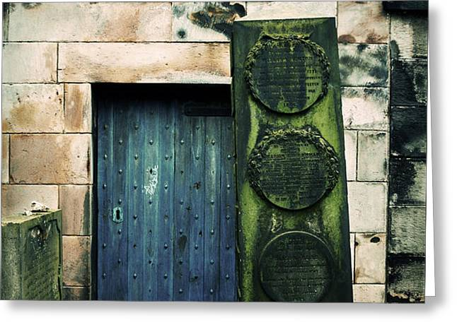 In Old Calton Cemetery Greeting Card by RicardMN Photography