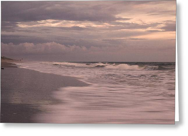 Topsail Island Greeting Cards - In Our Hearts Forever Greeting Card by Betsy C  Knapp