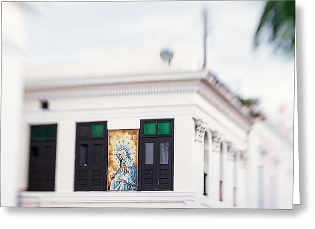 Old San Juan Greeting Cards - In San Juan Greeting Card by Nastasia Cook