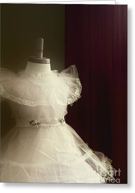 Outfit Greeting Cards - In The Corner Greeting Card by Margie Hurwich