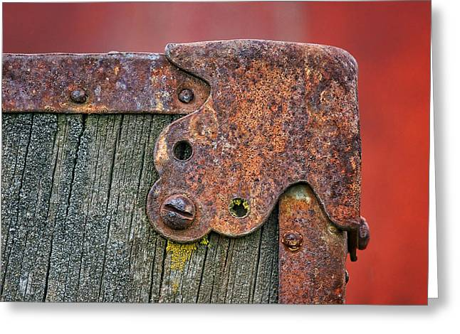 Hardware Greeting Cards - In the Corner Greeting Card by Nikolyn McDonald