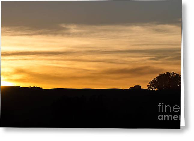Cmlbrown Greeting Cards - In The Evening I Rest Greeting Card by CML Brown