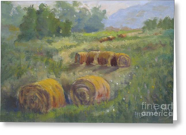 Fineartamerica Greeting Cards - In The Field Greeting Card by Mohamed Hirji