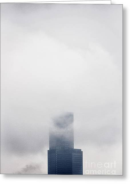 Engulfing Greeting Cards - In The Fog Greeting Card by Margie Hurwich