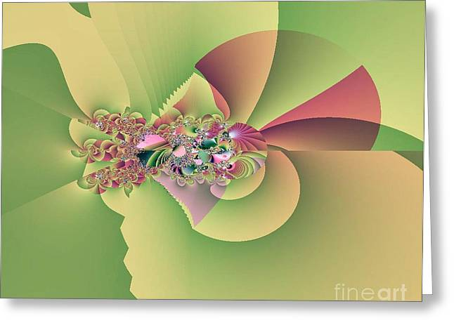 In The Land Of Fairies Greeting Card by Maria Urso