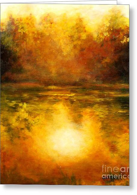 In The Light Of Day Greeting Card by Alison Caltrider