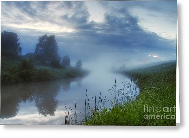 In The Morning At 02.57 Greeting Card by Veikko Suikkanen