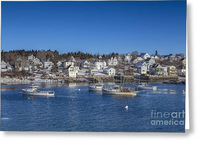 Coastal Maine Greeting Cards - In The Morning Light Greeting Card by Evelina Kremsdorf