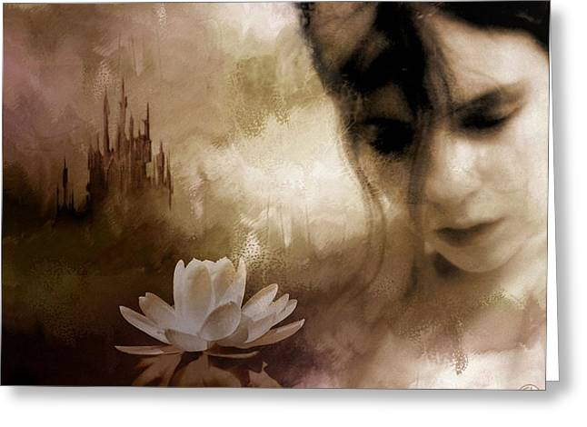Daydream Greeting Cards - In the realm of dreams Greeting Card by Gun Legler