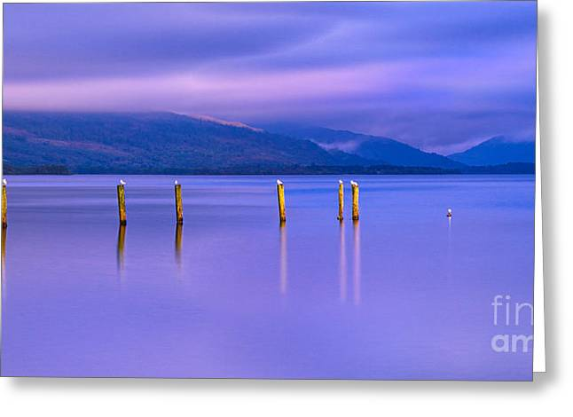 Trossachs National Park Greeting Cards - In the Realm of Giants Greeting Card by John Farnan