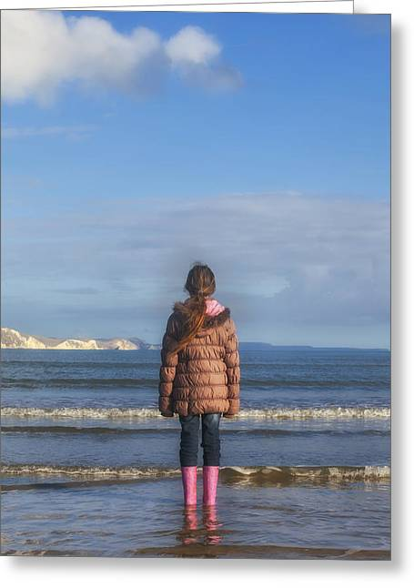 Rubber Boot Greeting Cards - In The Sea Greeting Card by Joana Kruse