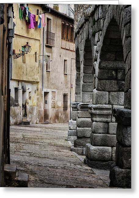 Stones Greeting Cards - In the Shadow Greeting Card by Joan Carroll