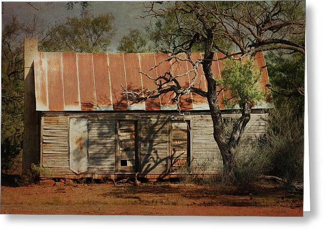 Tin Roof Greeting Cards - In the Shadow of Time Greeting Card by Jeff Mize
