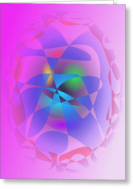 Gradations Digital Art Greeting Cards - In the Vicinity Greeting Card by Masaaki Kimura