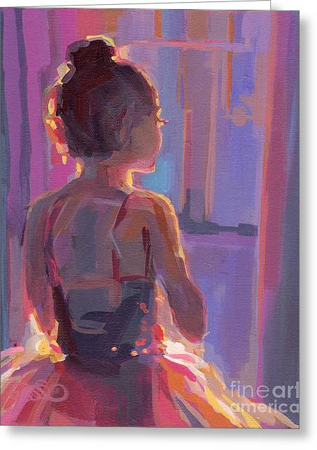 In The Wings Greeting Card by Kimberly Santini