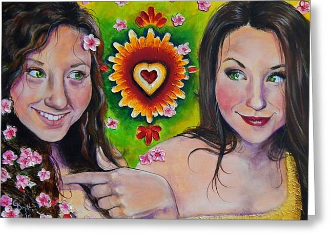 Photo Realism Greeting Cards - In This Skin Greeting Card by Gretchen  Smith