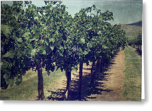Harvest Time Greeting Cards - In Time Greeting Card by Lucinda Walter