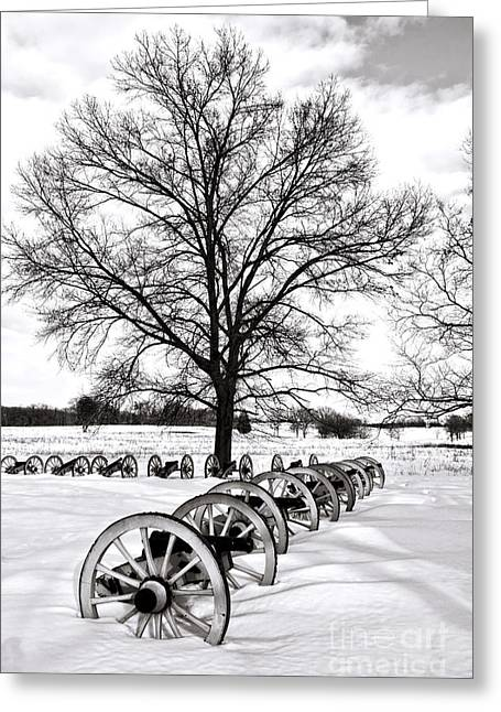 Philadelphia History Greeting Cards - In Time of Peace  Greeting Card by Olivier Le Queinec