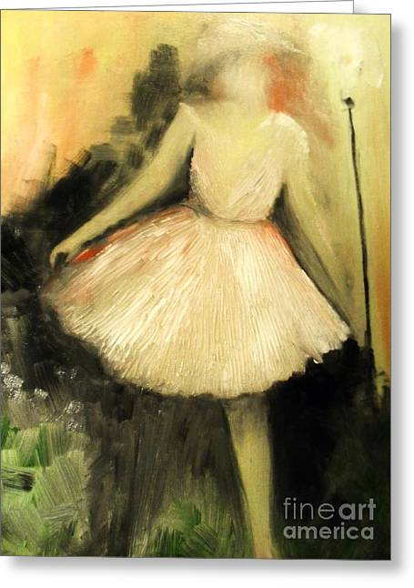 Laurie D Lundquist Greeting Cards - In Vogue Greeting Card by Laurie D Lundquist
