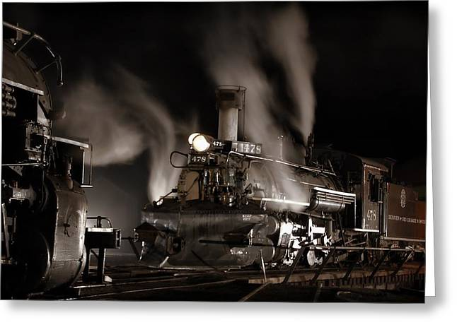 Durango Greeting Cards - Inbound Outbound Greeting Card by Ken Smith