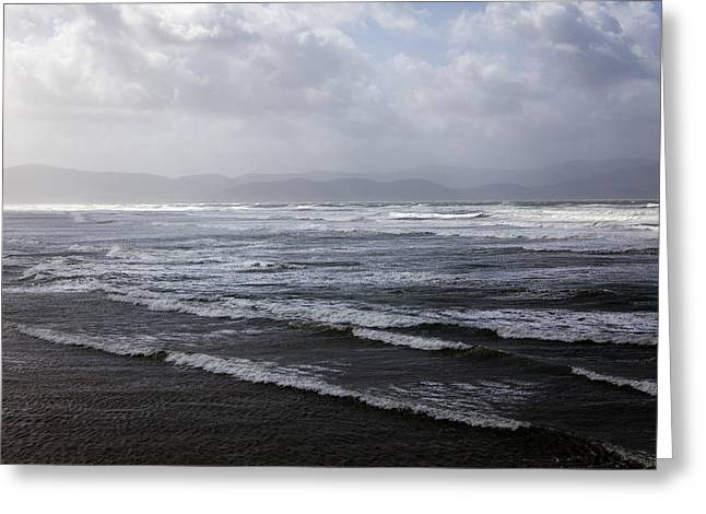 Roling Greeting Cards - Inch Strand County Kerry Greeting Card by Patrick McGill