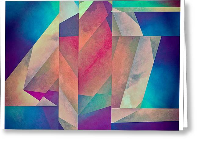 Sorrow Digital Art Greeting Cards - Incidental Formation Greeting Card by LC Bailey