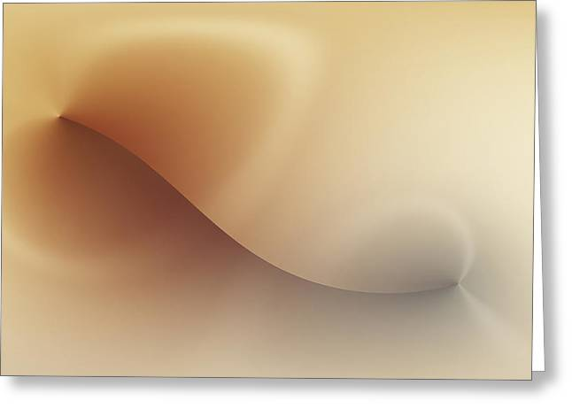 Smoothness Greeting Cards - Incision Greeting Card by Wim Lanclus