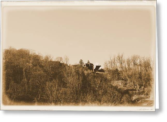 Incline Digital Greeting Cards - Incline Plane-Johnstown Greeting Card by Gary Pavlosky