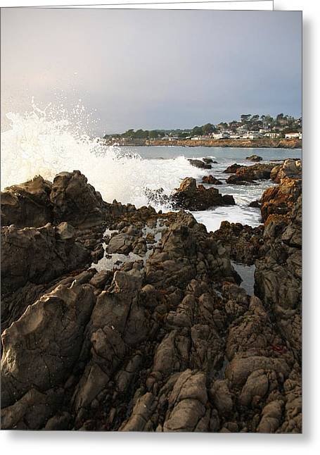 Cambria Greeting Cards - Incoming Greeting Card by Amy Evans