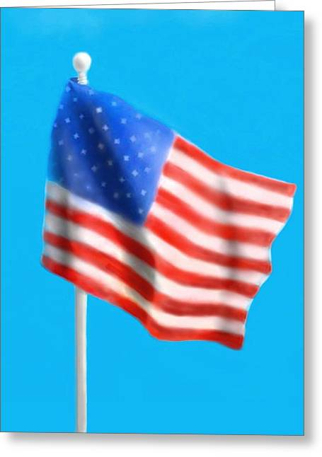 4th July Greeting Cards - Independence Day Greeting Card by Alissa Beth Fox