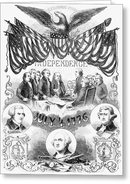 Independence Day Greeting Card by Granger