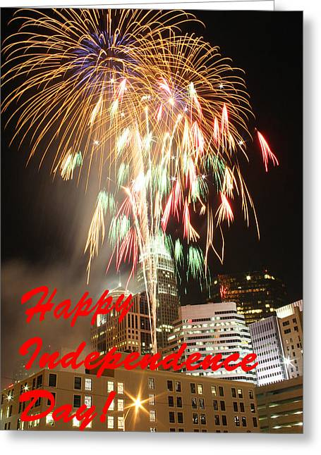 4th July Photographs Greeting Cards - Independence Day Greeting 1 Greeting Card by Joseph C Hinson Photography