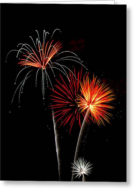 July 4th Greeting Cards - Independence Day  Greeting Card by Saija  Lehtonen